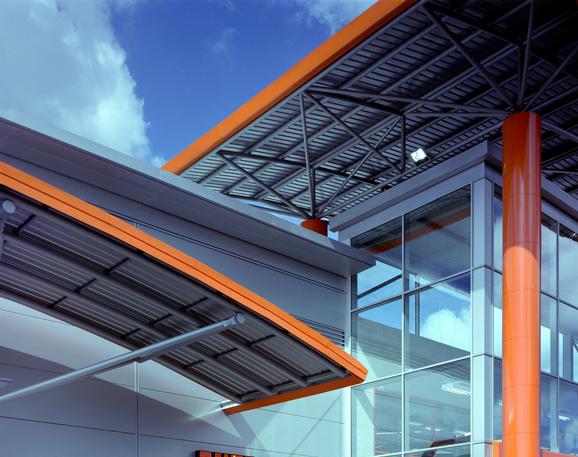 Retail Warehouse Design B&Q Belvedere
